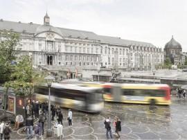 Transitec mobilisé pour la gestion de la circulation le long du futur tramway de Liège (Belgique)