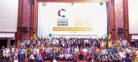The GUMAP project showcased at the Climate Chance Summit