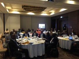 A SSATP sub-regional workshop to support 4 African countries in their national urban mobility policies