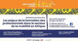 Lancement du MOOC Mobilités urbaines en Afrique